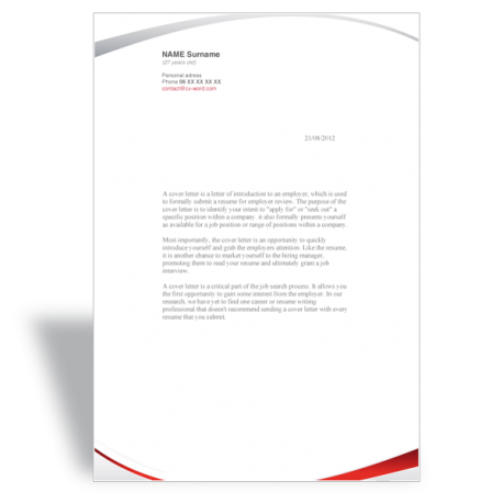 Free Download Program Find Fax Cover Letter Template Word