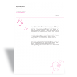Word cover letter templates - Word resume CV templates