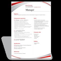 Résumé CV Manager