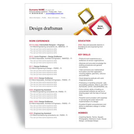 word cv r sum template design draftsman word resume cv