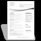 CV Marketing Internship